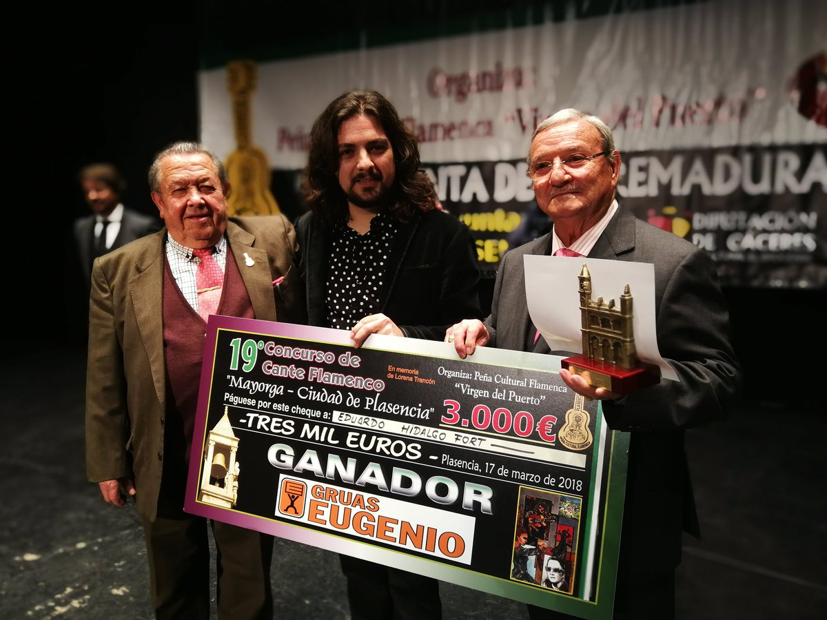 Edu Hidalgo ganador Plasencia