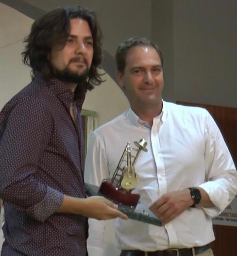Edu Hidalgo gana Villafranca de los Barros flamenco 2017